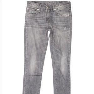 R13 grey jeans size 25
